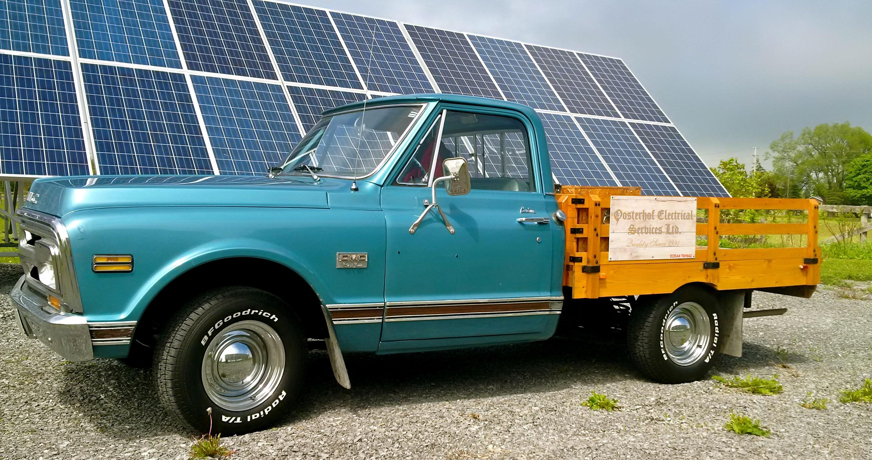 Oosterhof Electrical Truck
